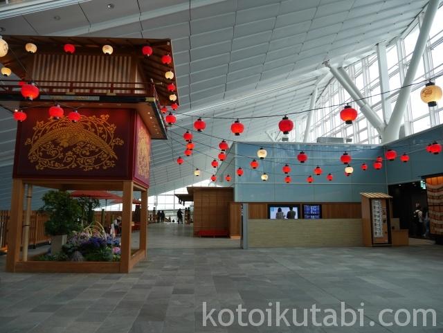 羽田空港国際ターミナルのお祭り広場
