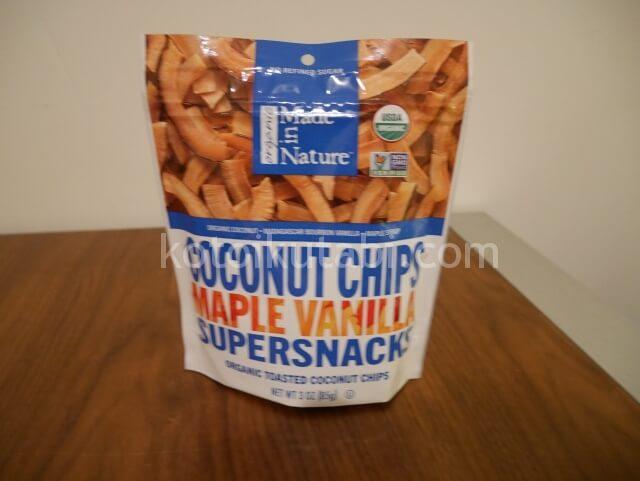 Walgreensで買ったココナツチップ