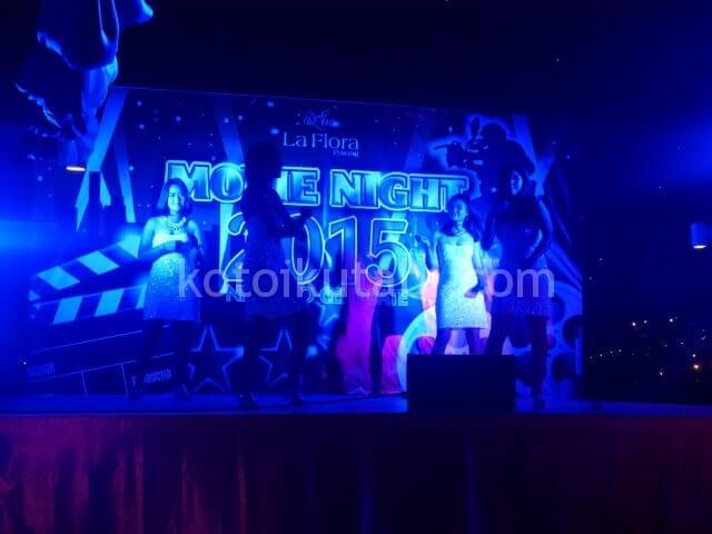 ラフローラリゾートパトンのガラディナー(ダンス)