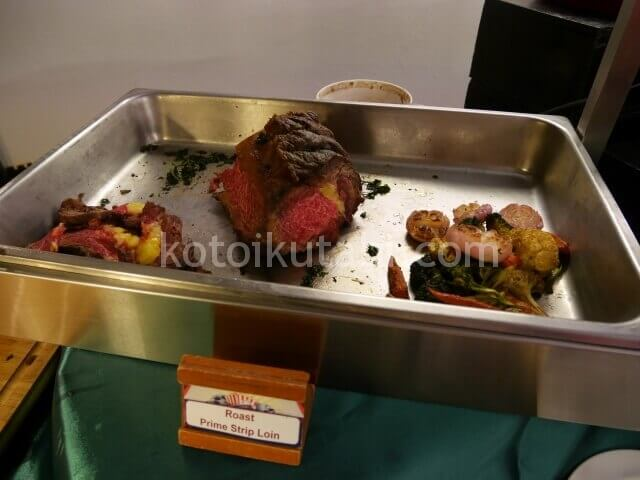 ラフローラリゾートパトンのガラディナー(肉)