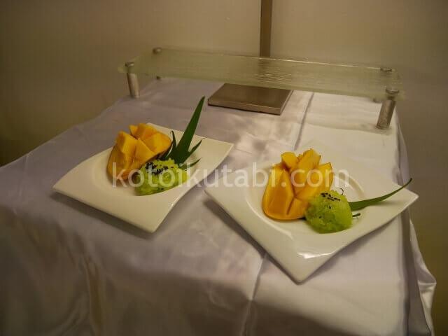 ラフローラリゾートパトンのガラディナー(マンゴー)