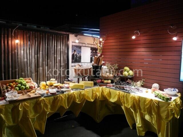 ラフローラリゾートパトンのガラディナー