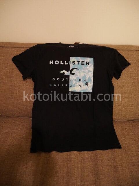 サンフランシスコで買ったHollisterのTシャツ