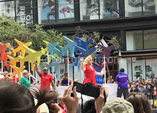 サンフランシスコPRIDEパレード
