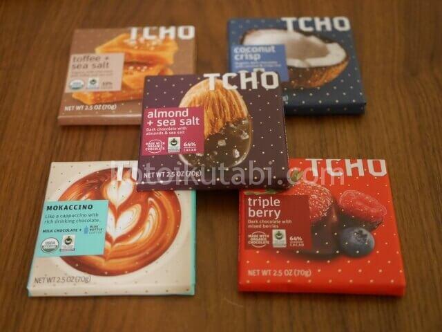 TCHOのチョコレート