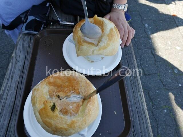 グランビルアイランドで食べたポットパイ