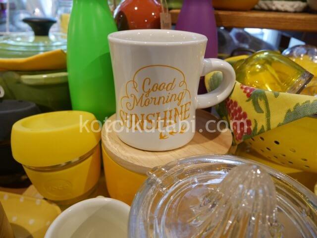 グランビルアイランドの雑貨屋さんで見つけたかわいいマグカップ