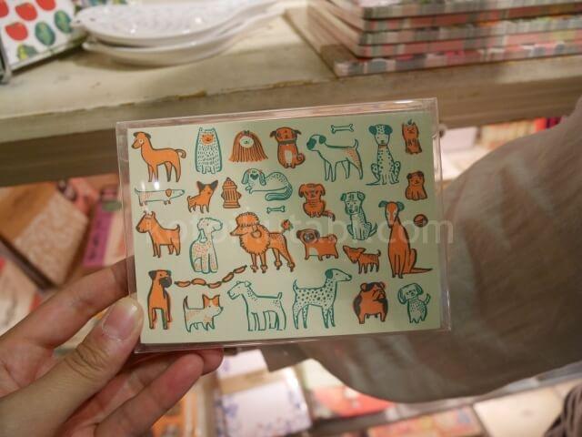 グランビルアイランドの雑貨屋さんで見つけたかわいいポストカード