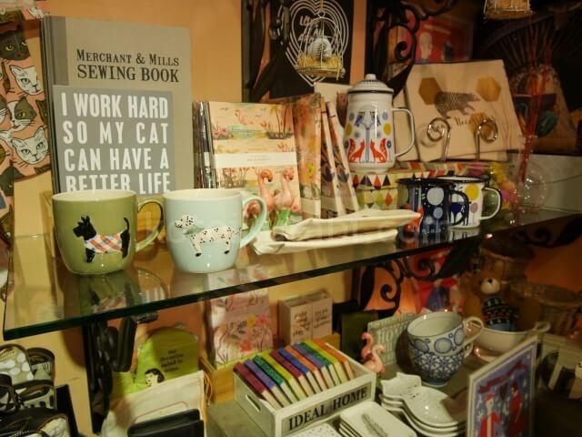グランビルアイランドの雑貨屋さん店内の様子