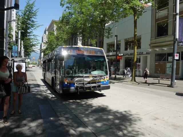 バンクーバー市内のバス