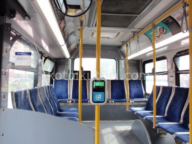 バンクーバーのバスの様子