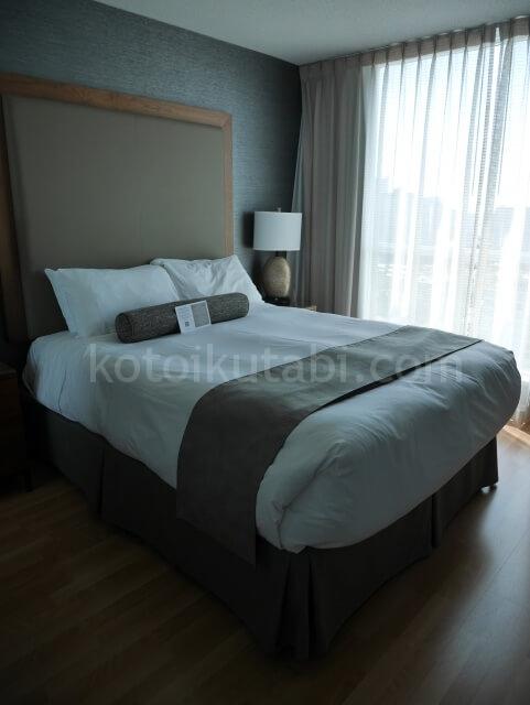 ホテルカーマナプラザのベッドルーム