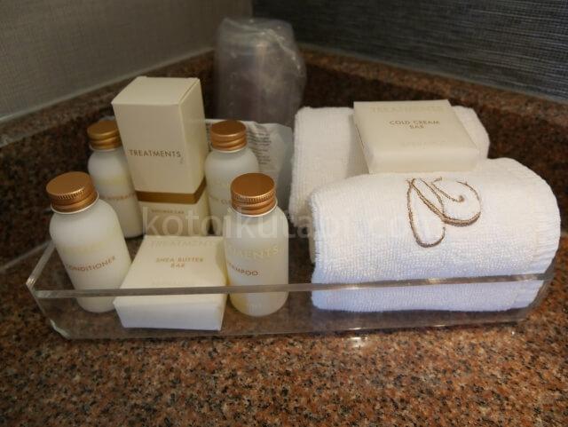 ホテルカーマナプラザのアメニティ