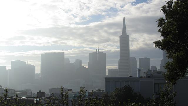 朝のサンフランシスコ
