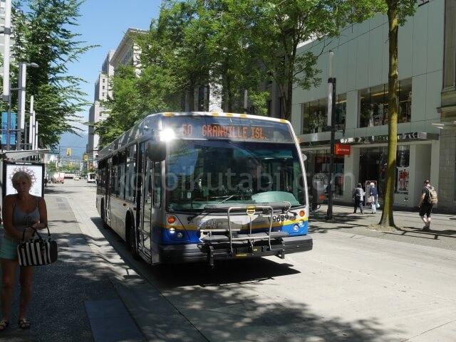 バンクーバーの市バス