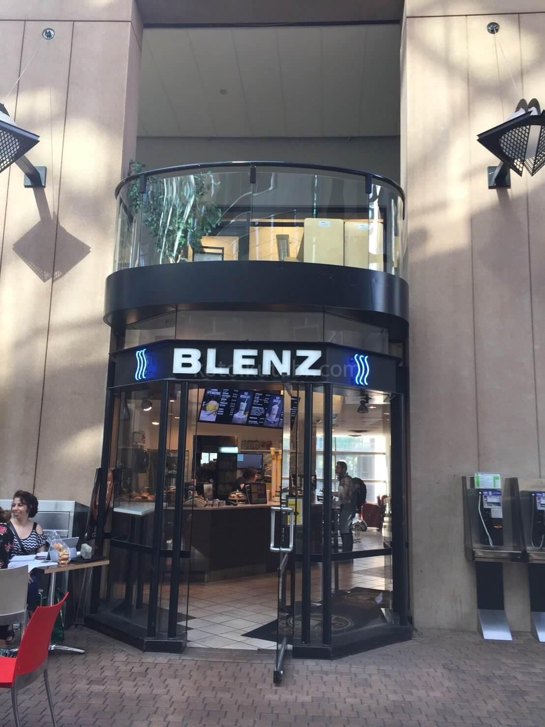BLENZ COFFEEお店の外観