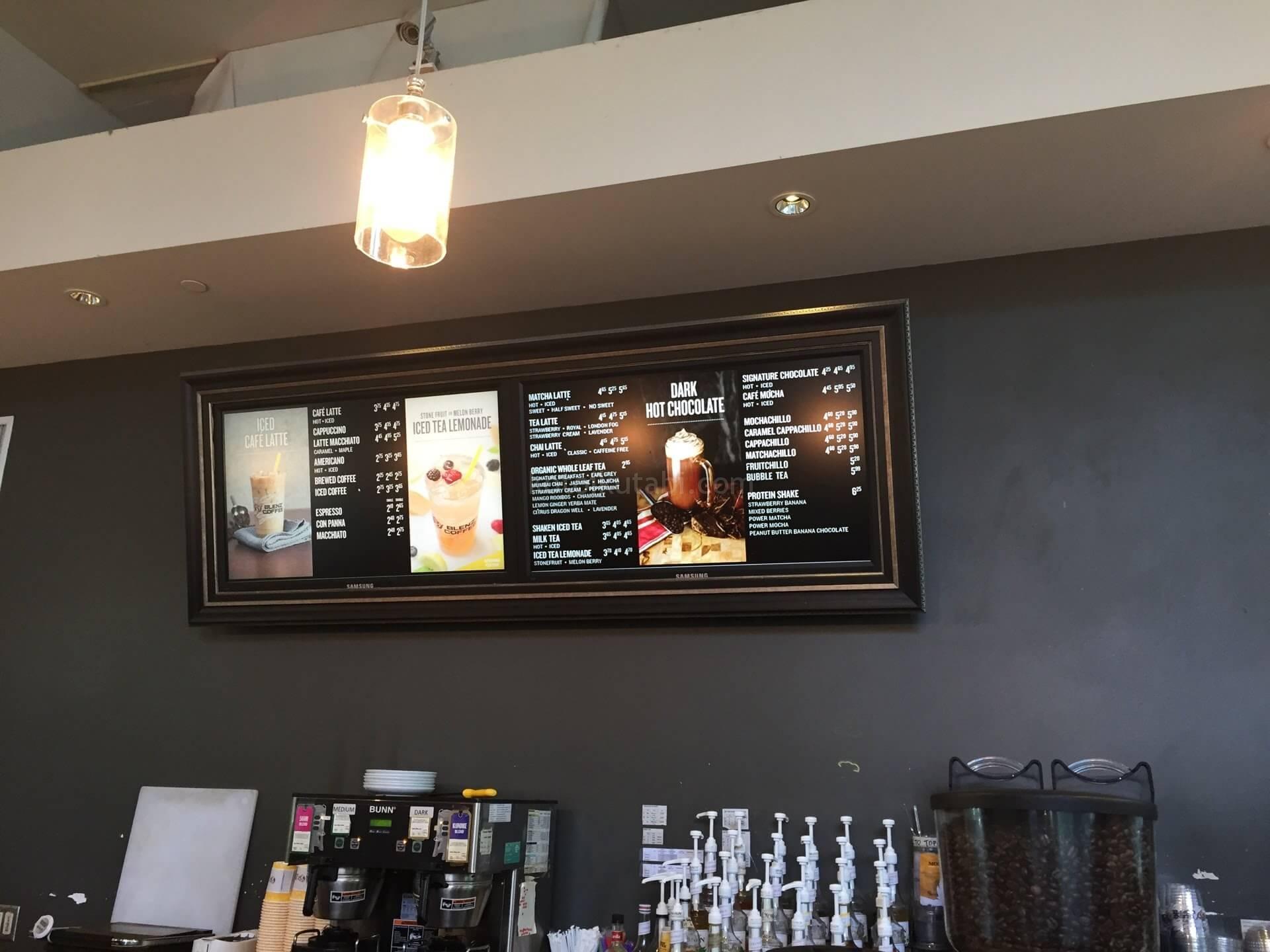 BLENZ COFFEEメニュー
