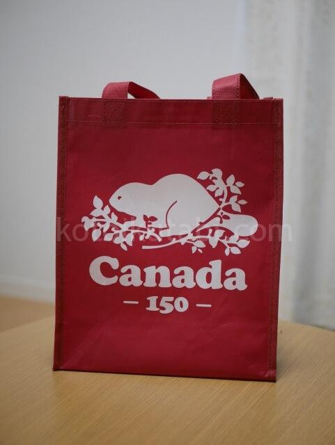 カナダRootsのショップバッグ