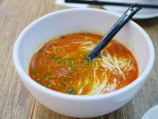 香港空港Crystal Jadeの担々麺