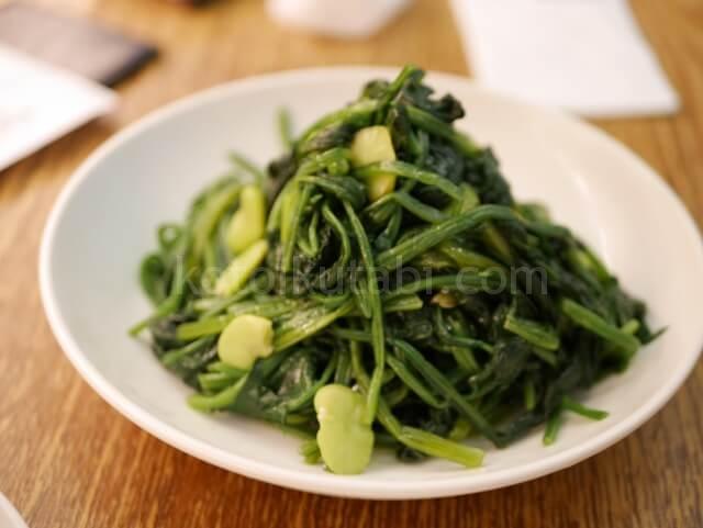 香港空港Crystal Jadeの野菜