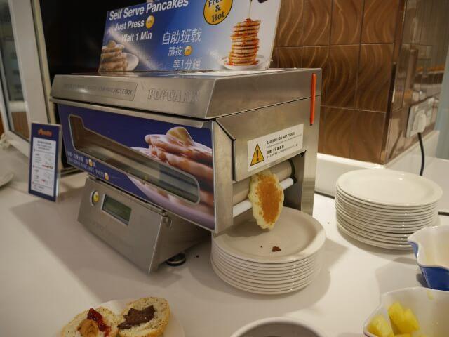 パークホテル香港の朝食ビュッフェ
