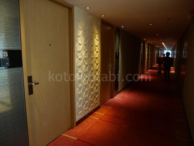 パークホテル香港の廊下