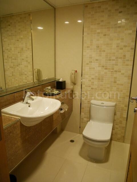 パークホテル香港のバスルーム
