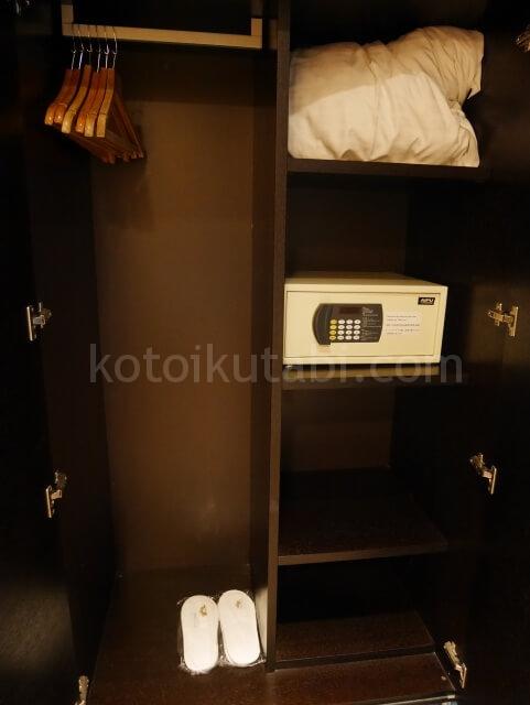 パークホテル香港のクローゼット