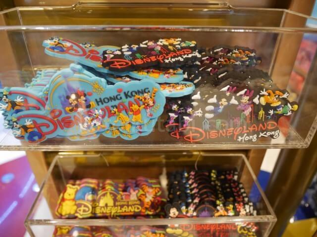 香港空港内のディズニーストアかわいいマグネット