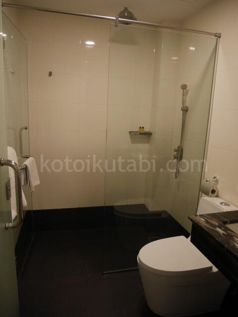 ジョホールバルのベロホテルの部屋