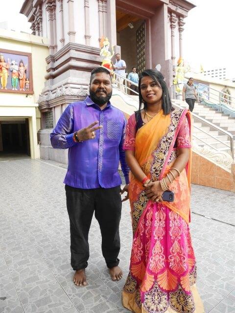 ジョホールバルのヒンドゥー寺院(Arulmigu Rajamariamman Devasthanam)