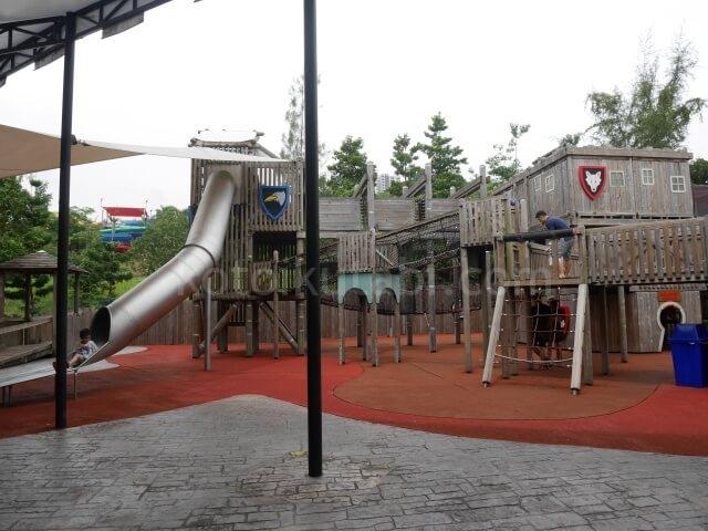 レゴランドマレーシア内のアスレチック