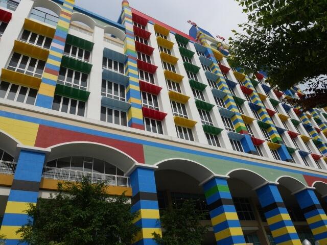レゴランドマレーシアのレゴランドホテル外観