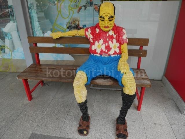 レゴランドマレーシア内のレゴオブジェ
