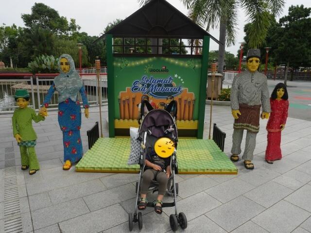 レゴランドマレーシアのレゴオブジェ