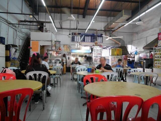 ジョホールバルの食堂