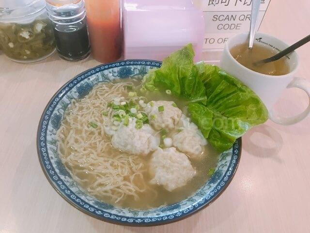 何成記の雲呑麺