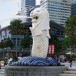 【シンガポール2018】マーライオンにご挨拶!