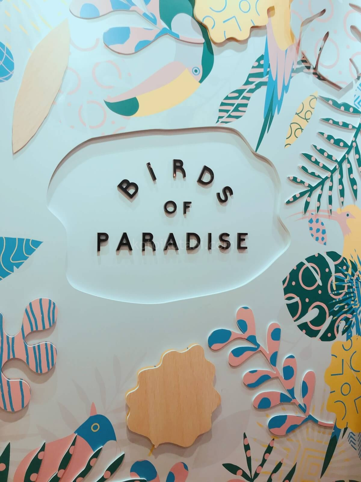 カトンのおしゃれなアイス屋さん「BIRDS OF PARADISE」