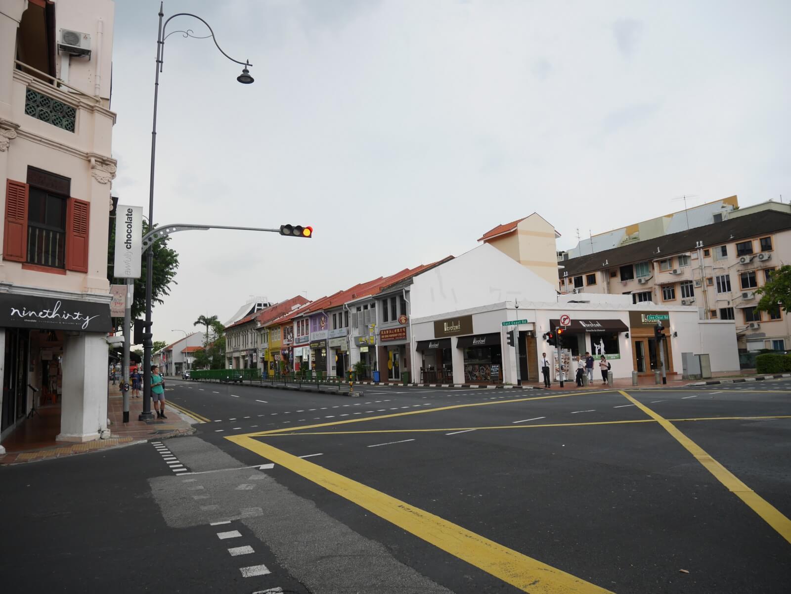カトンエリアの街並み