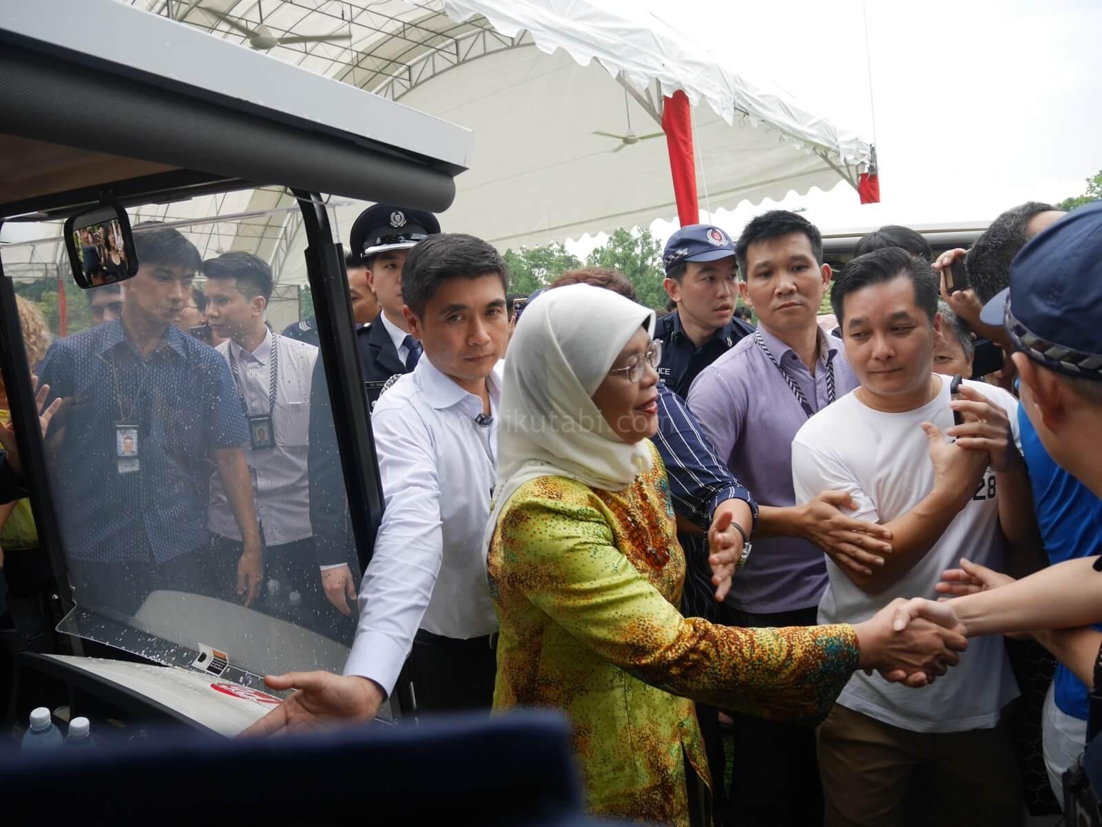 シンガポールの首相官邸「イスタナ」オープンハウスの様子
